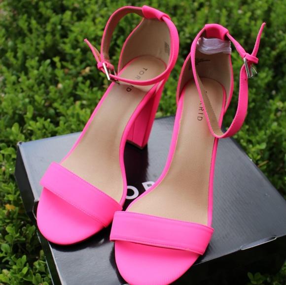 Pink Heels Size 11